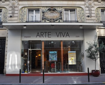 Galerie d'art contemporain ARTE VIVA - tableau - sculpture  - Paris Levallois